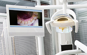 Intraoral photos on chairside computer